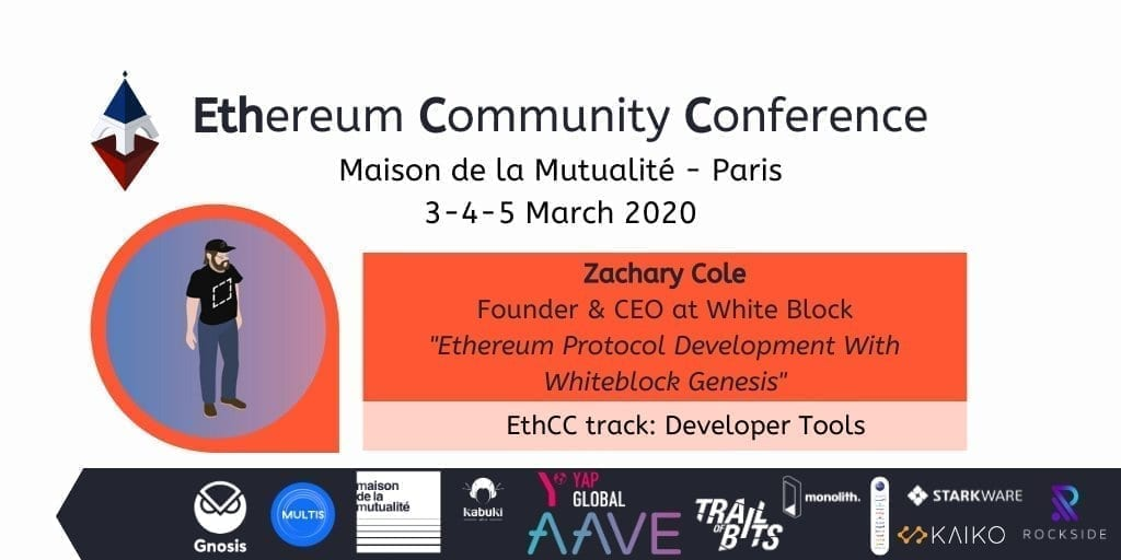 Ethereum Community Conference, event, crypto, cryptocurrency, bitcoin, blockchain, march, 2020